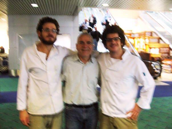 Omer, Dave, Shimon